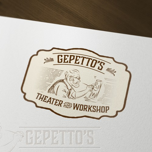 Gepetto's  Theater logo