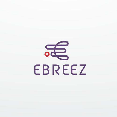 Logo for ebreez, general trading company