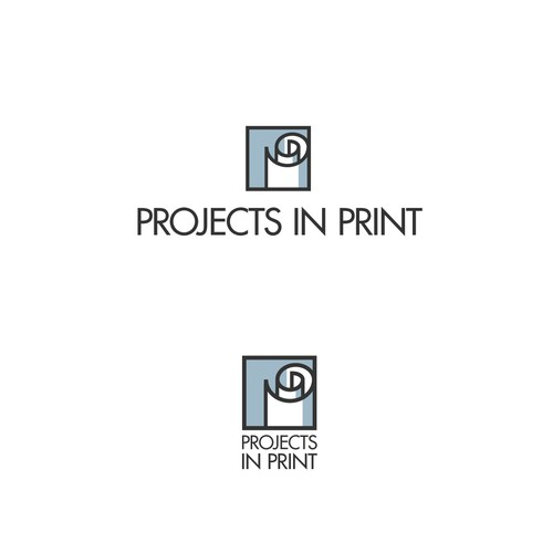 "Logo for ""Projects in Print""."