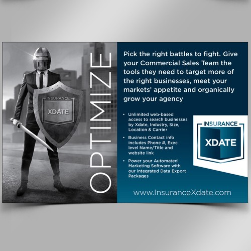 Half Page Magazine Ad for InsuranceXdate.com