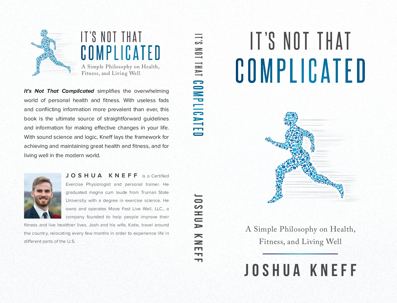 Simple and clean book cover for science-based health and fitness book