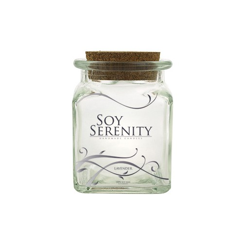 Soy Serenity Product Label Design