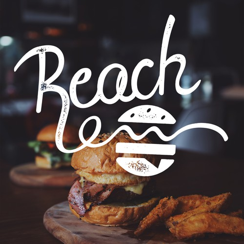 Burger logo for a burger restaurant