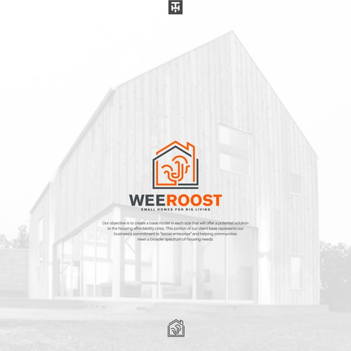 Line art mark for weeRoost