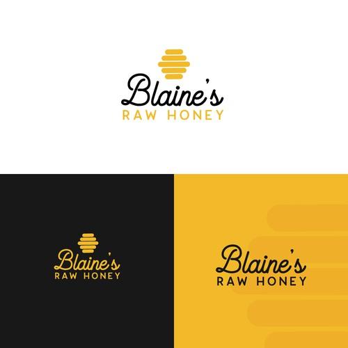 Fun logo for new honey company