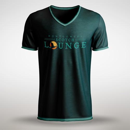 Mont. Scotch Lounge Shirt Design