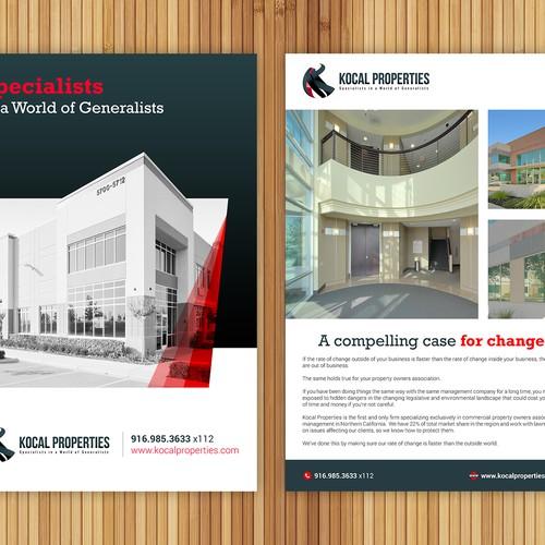 Brochure for Kocal Properties