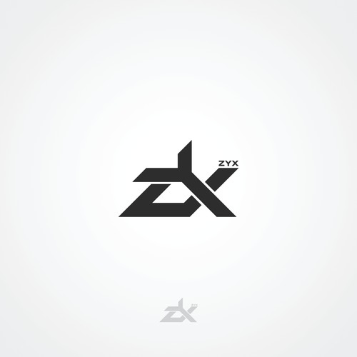 Logo design for ZYX - the Future Intersection of Social Media, E-commerce and Digital Content Discovery