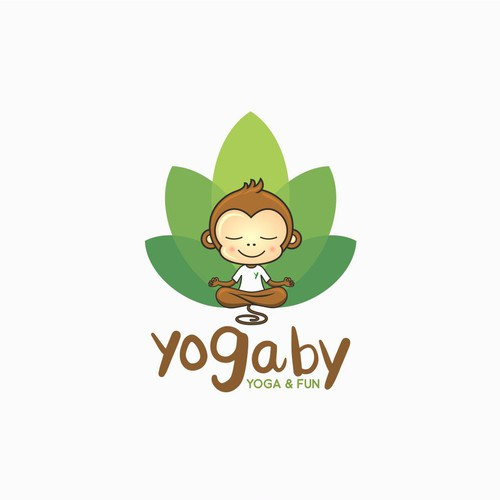 fun logo for yogaby