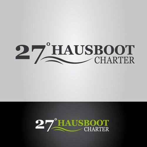 Logokonzept für Hausbootverleih