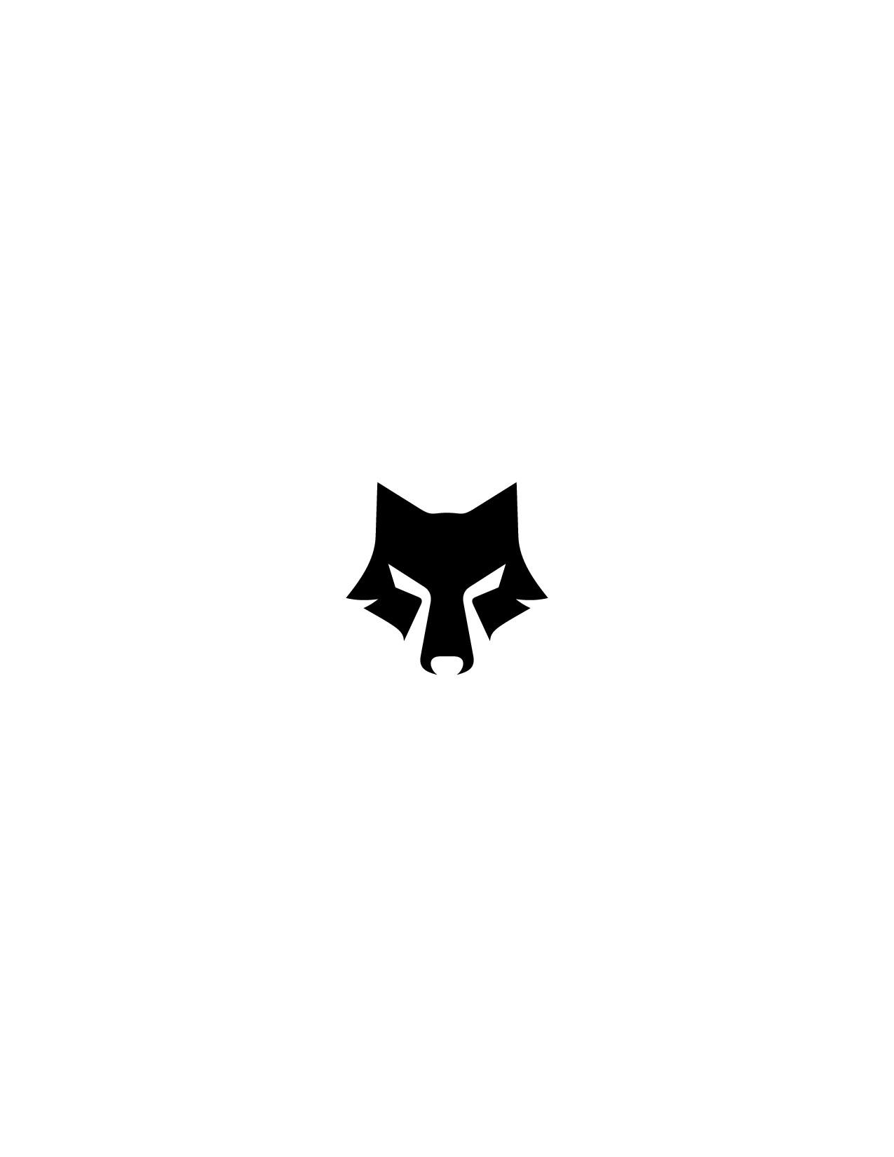 Stylized Wolf Head Logo Re-Design