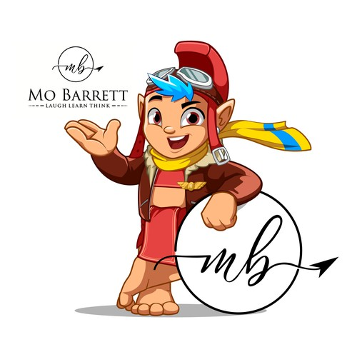 Mascot and Character Design for Mo BARRETT