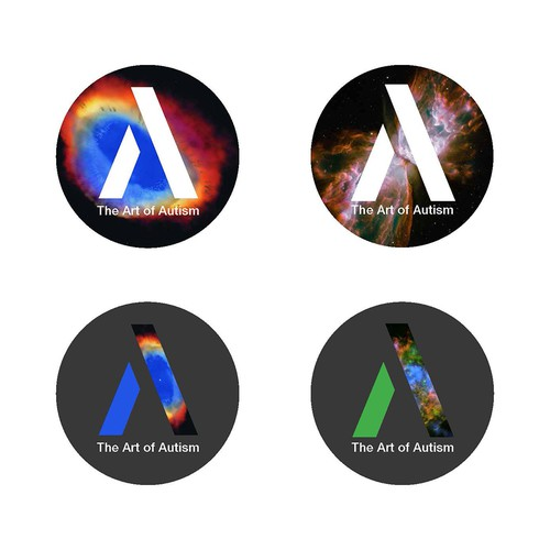 Create a stylish logo for The Art of Autism