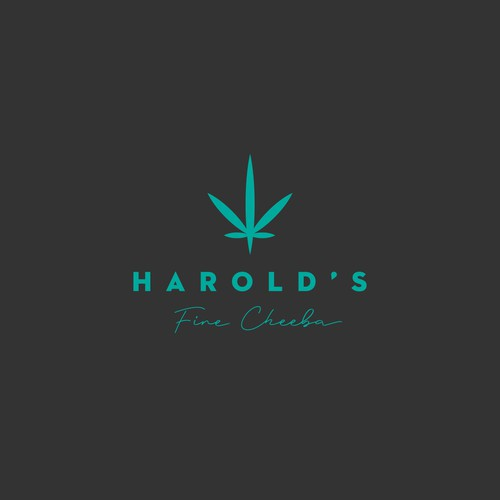 logo design •Harold's Fine Cheeba