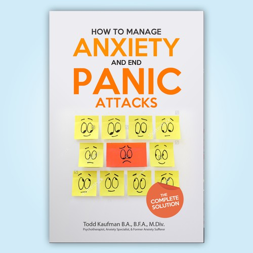 "Book Cover "" How to Manage and End Panic Attacks"""