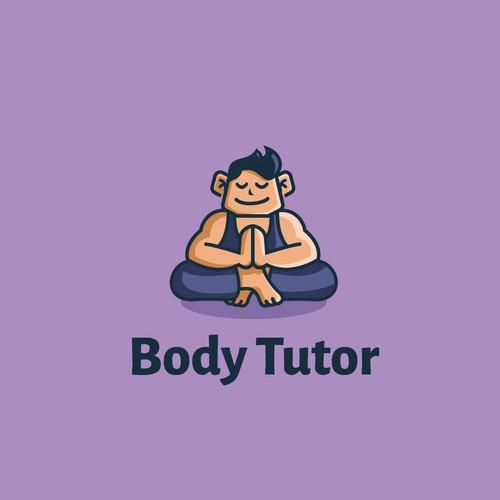Simple mascot design for Body Tutor.