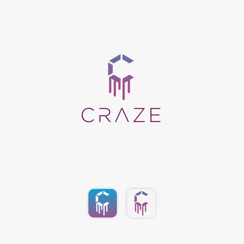 Craze, a simplify logo