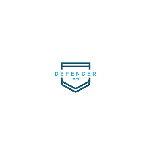 Clean logo for DEFENDER AM