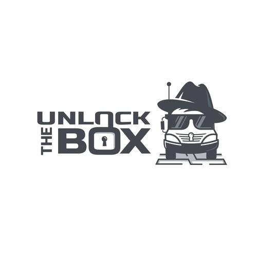 Bold, fun logo for a Truck Escape Game