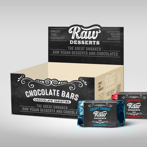 Raw Deserts Display box