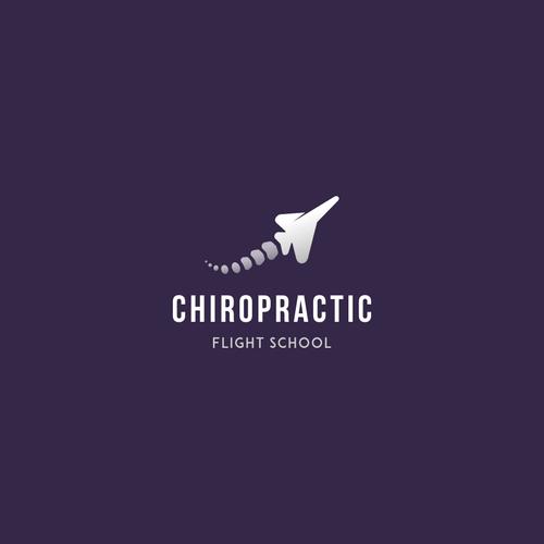 Spine plus jet logo