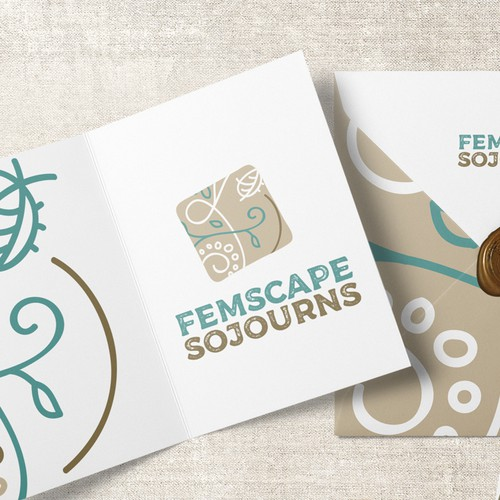 Femscape Sojourns logo