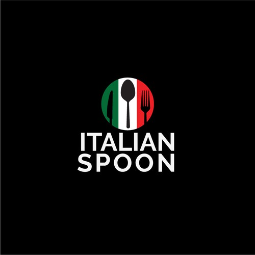 Design a modern logo for Italian Spoon