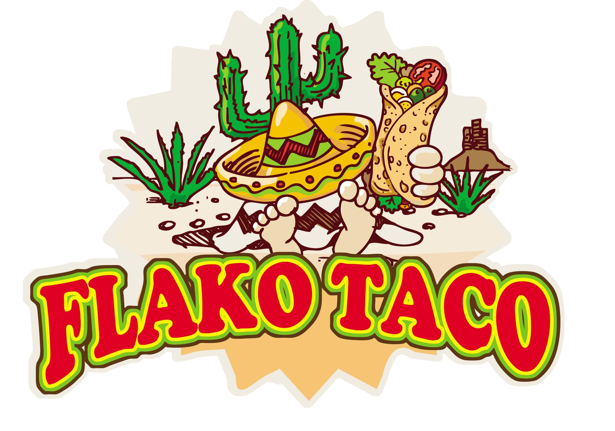 flako taco logo