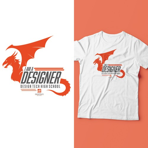 T-Shirt Design for Designer school