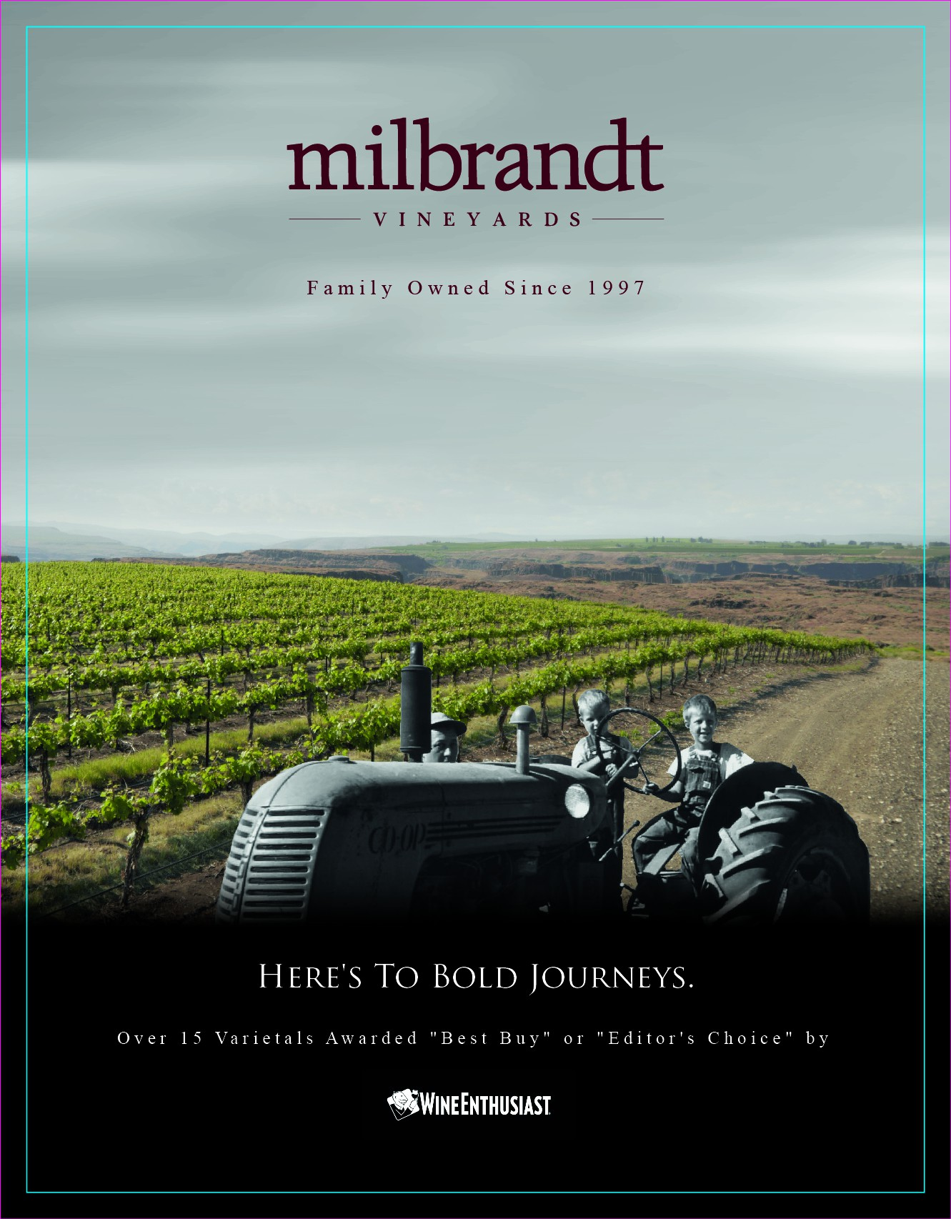 Milbrandt one-page ads
