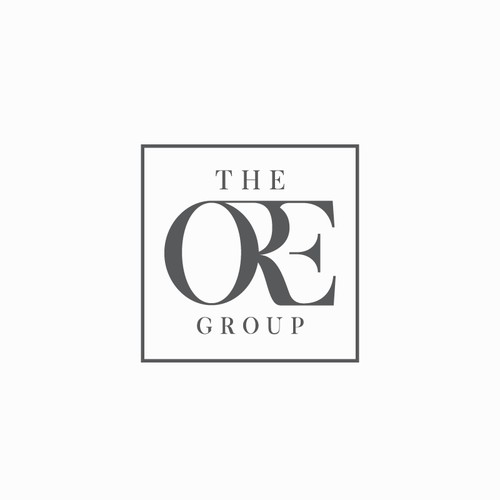 Simple, Elegant, Sophisticated Real Estate / Finance Business Logo for The ORE Group - Olson Real Estate Group