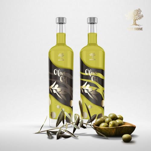 Olive Groove - Olive oil bottle concept