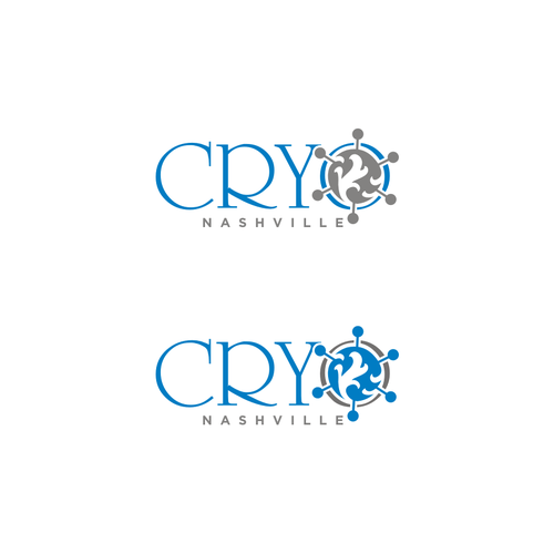Create a new age healthcare logo for CryoNashville