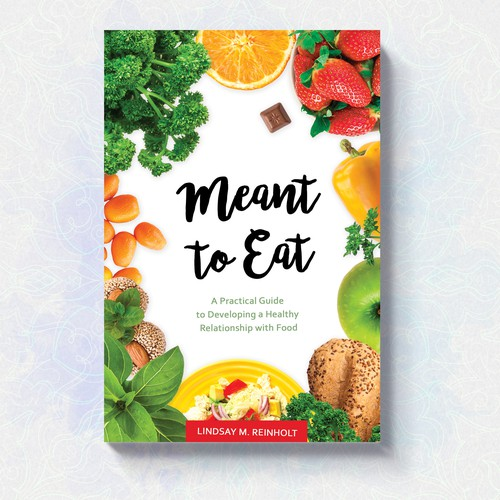 A cover for a book about healthy eating