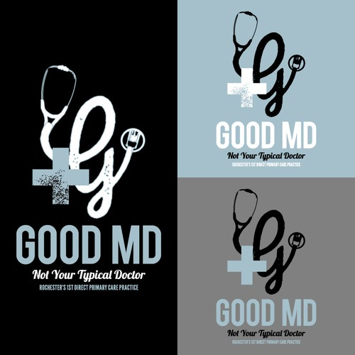 rustic vintage tshirt design for a not so typical doctor's office