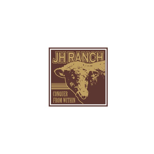 logo for JH ranch