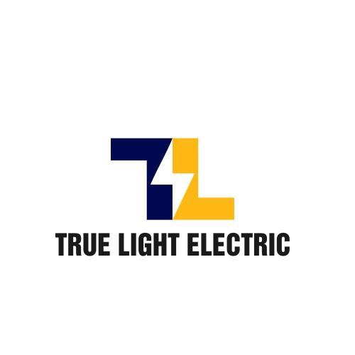 Minimal logo for True Light Electric.