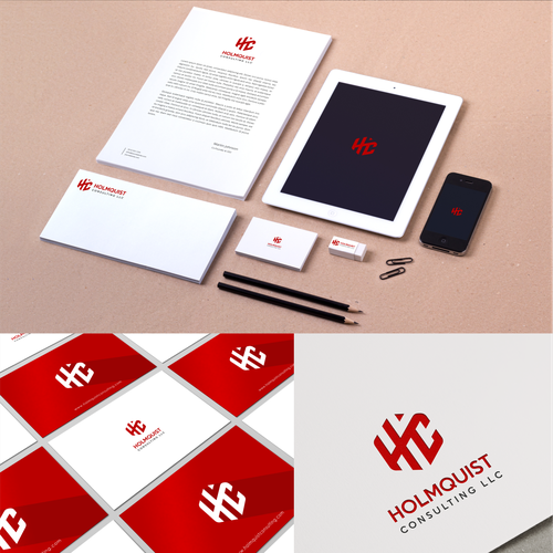 logo for holmquist consulting