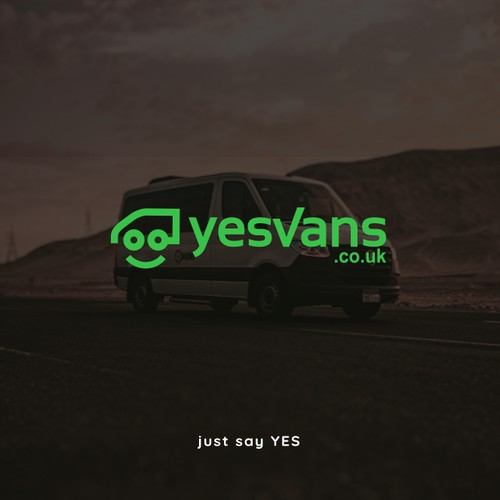 logo concept for online van selling company