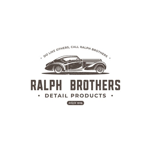 Vintage Logo for Old Vehicle Company