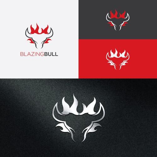 Blazing Bull Logo - Innovative Premium Grill Manufacturer - Modern. Masculine.