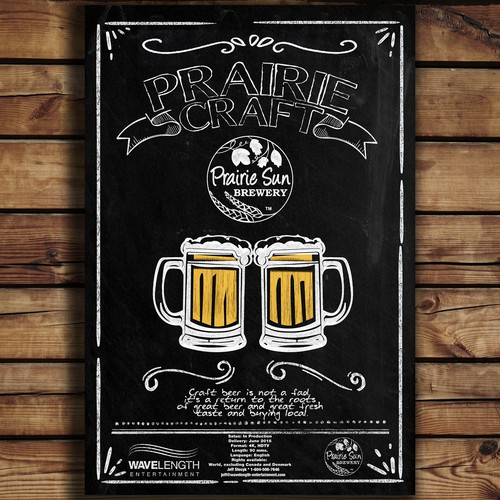 Prairie Craft Poster