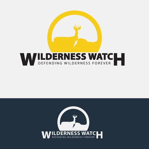 Wild logo concept for Wilderness Watch