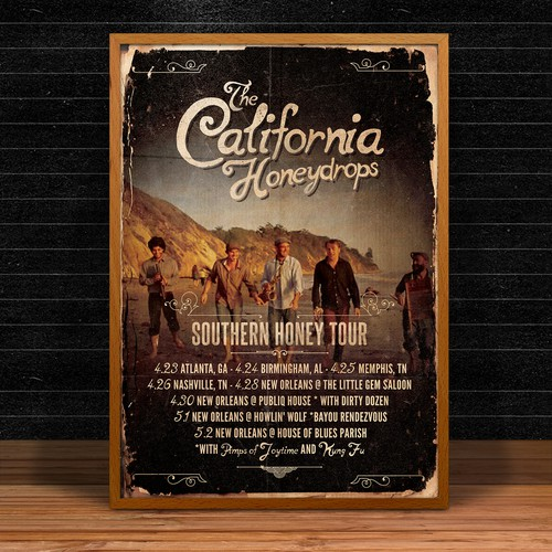 indie poster for California Honeydrops