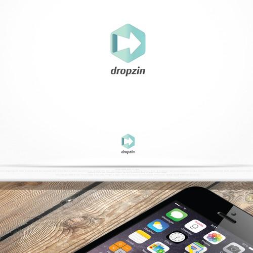 Bold logo concept for mobile app
