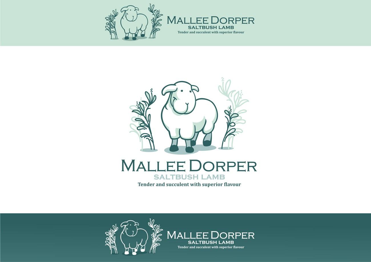 Mallee Dorper Saltbush Lamb needs a new logo