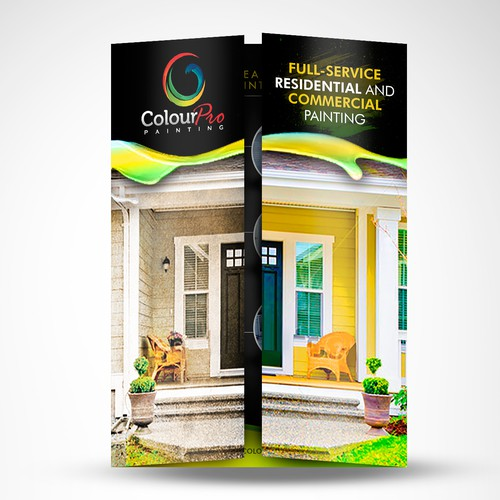 Brochure for ColourPro Painting