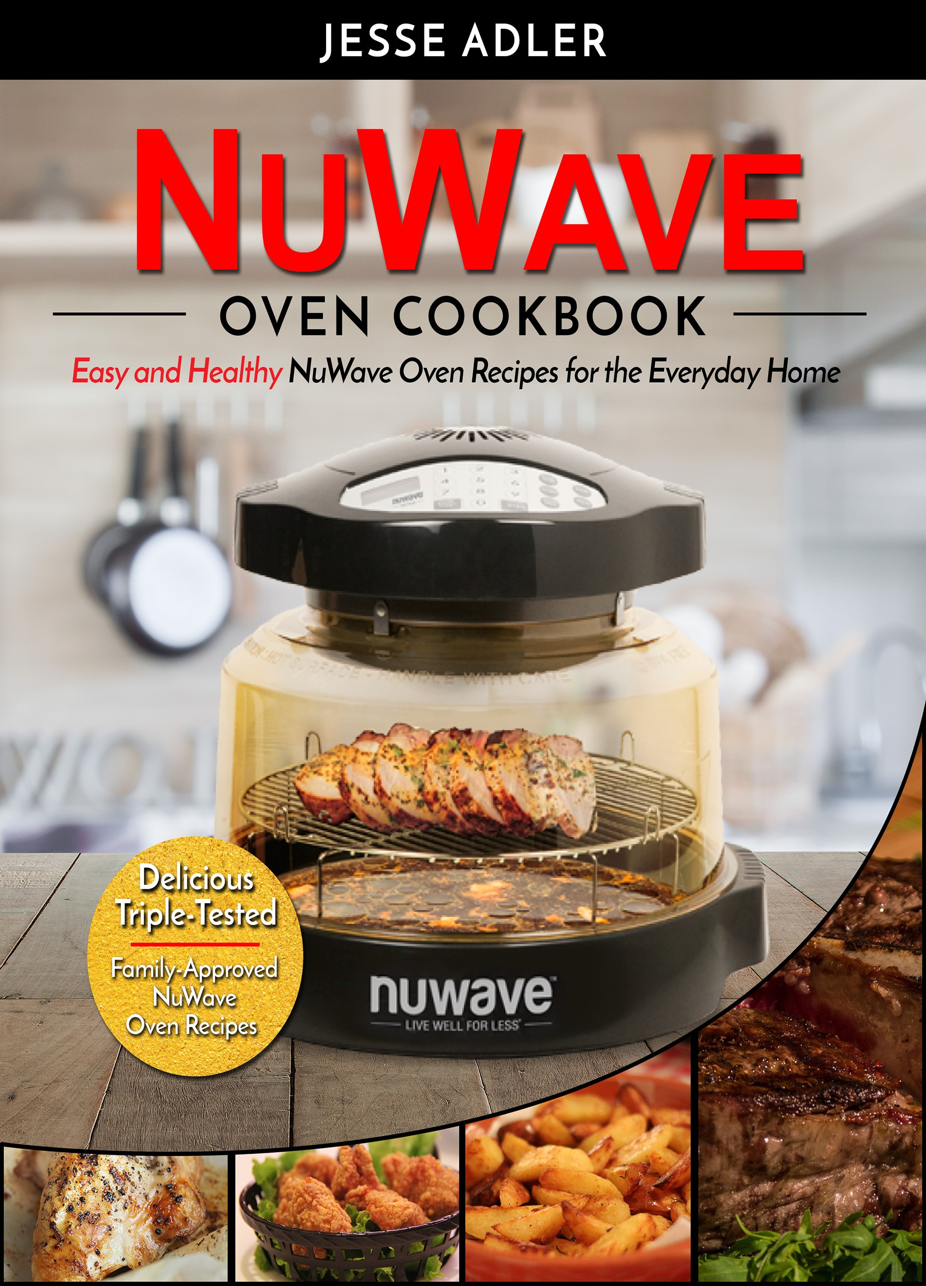 NuWave Oven Cookbook - Book Cover!