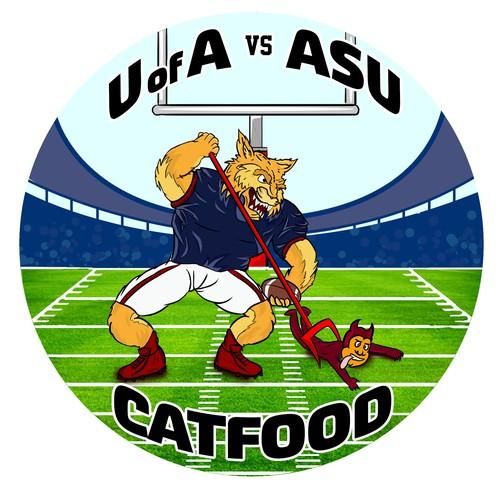 Catfood Illustration