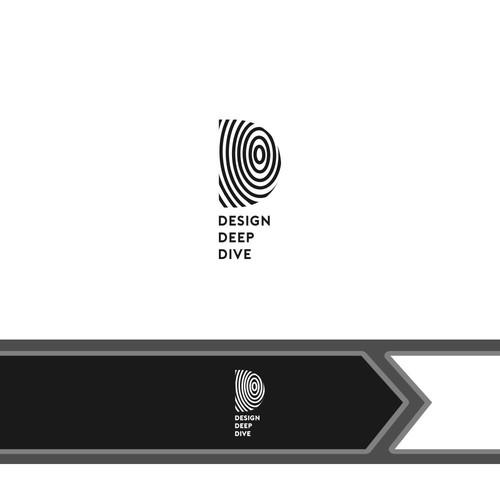 logo concept for Design Deep Dive